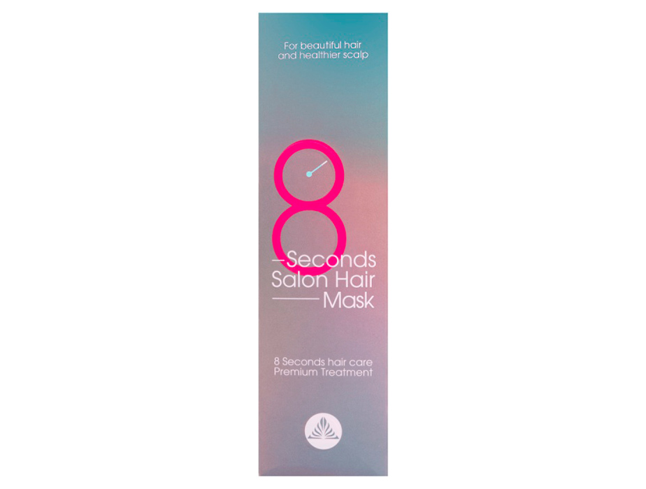Восстанавливающая питательная маска для волос Masil 8 Seconds Salon Hair Mask, 350мл - Фото №4