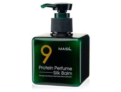 Несмываемый бальзам для защиты волос Masil 9 Protein Perfume Silk Balm, 180мл - Фото №1