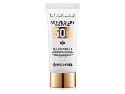 Солнцезащитный крем для лица Medi-Peel Active Silky Sun Cream SPF 50+, 50мл - Фото №1