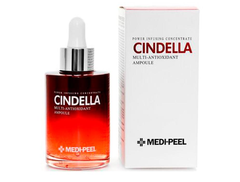 Антиоксидантная мульти-сыворотка для лица с пептидами Medi-Peel Cindella Multi Antioxidant Ampoule, 100мл - Фото №3