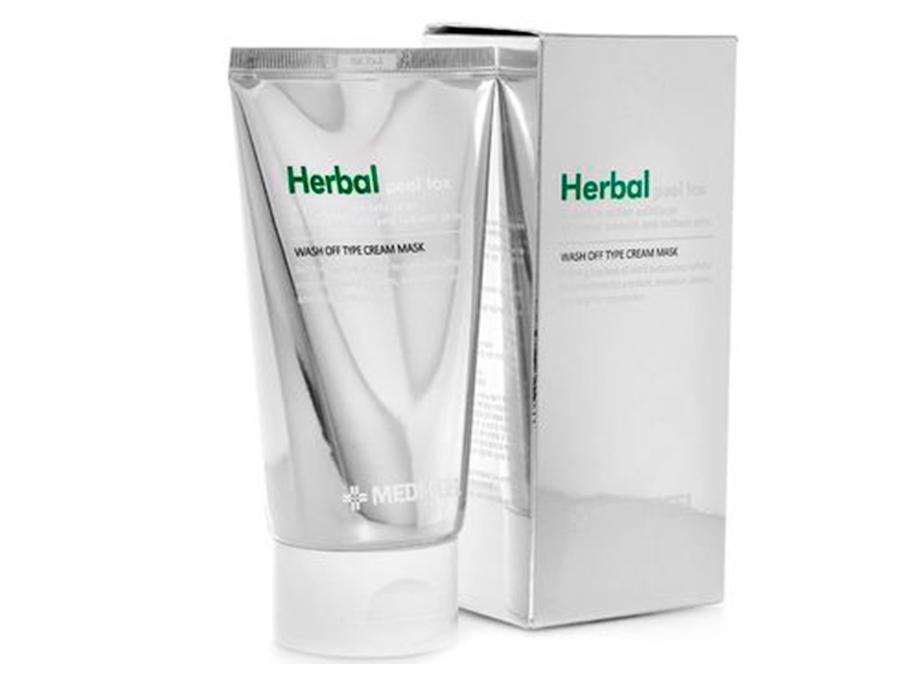 Очищающая пилинг-маска для лица Medi-Peel Herbal Peel Tox Cream Mask, 120мл - Фото №2