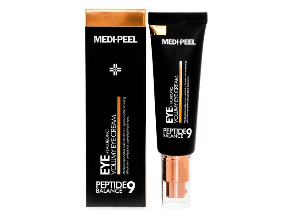 Омолаживающий крем для век с пептидами Medi-Peel Peptide Balance 9 Eye Hyaluronic Volumy Eye Cream, 40мл - Фото №2