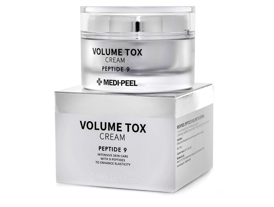 Омолаживающий крем для лица с пептидами Medi-Peel Volume Tox Cream Peptide 9, 50мл - Фото №2