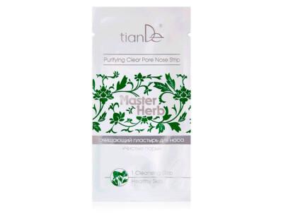Очищающий пластырь для носа «Чистые поры» TianDe Master Herb Purifying Clear Pore Nose Strip, 1шт - Фото №1