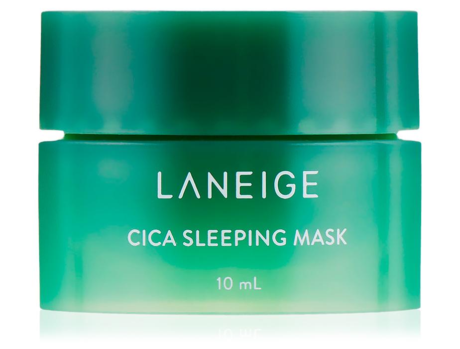 Ночная восстанавливающая маска для лица с центеллой Laneige Cica Sleeping Mask, 10мл