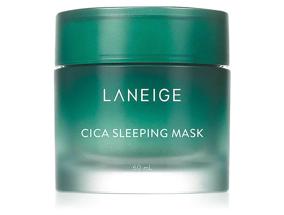 Ночная восстанавливающая маска для лица с центеллой Laneige Cica Sleeping Mask, 60мл