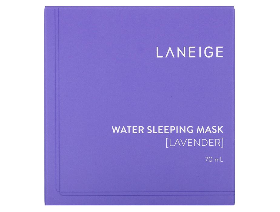 Увлажняющая ночная маска для лица с лавандой Laneige Water Sleeping Mask Lavender, 70мл - Фото №4