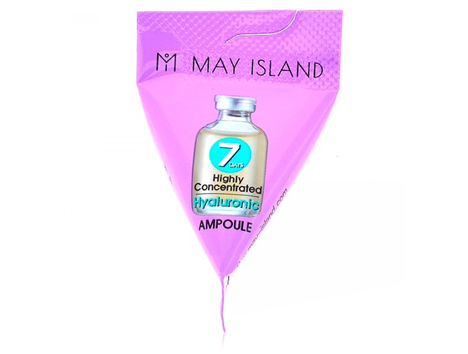 Увлажняющая сыворотка для лица с гиалуроновой кислотой May Island 7 Days Highly Concentrated Hyaluronic Ampoule, 3г - Фото №1