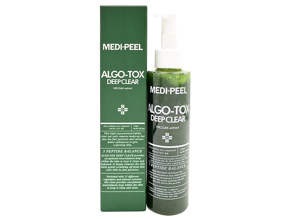 Гель для глубокого очищения лица с эффектом детокса Medi-Peel Algo-Tox Deep Clear, 150мл - Фото №2