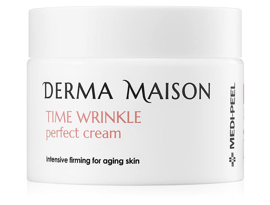 Разглаживающий крем для лица против морщин Medi-Peel Derma Maison Time Wrinkle Cream, 50мл - Фото №1
