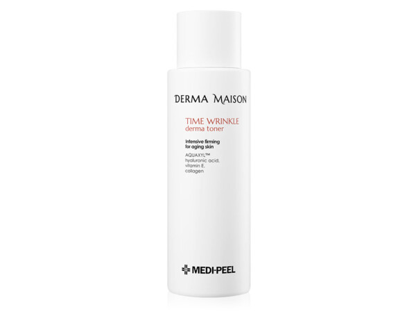 Антивозрастной тонер для лица с коллагеном Medi-Peel Derma Maison Time Wrinkle Derma Toner, 250мл - Фото №1