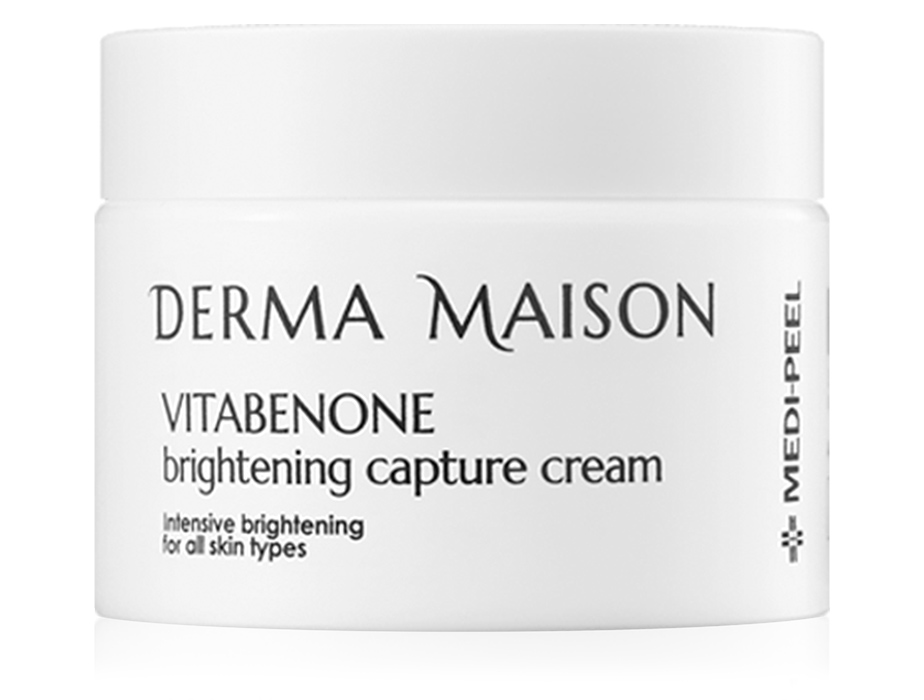 Витаминный крем для лица для выравнивания тона кожи Medi-Peel Derma Maison Vitabenone Brightening Capture Cream, 50мл - Фото №1