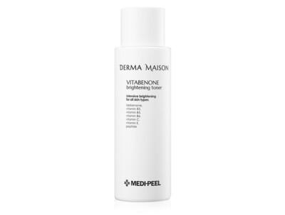 Витаминный тонер для выравнивания тона кожи Medi-Peel Derma Maison Vitabenone Brightening Toner, 250мл - Фото №1