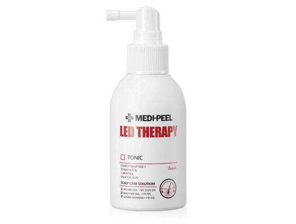 Укрепляющий тоник для волос с пептидами Medi-Peel Led Therapy Tonic, 120мл - Фото №1