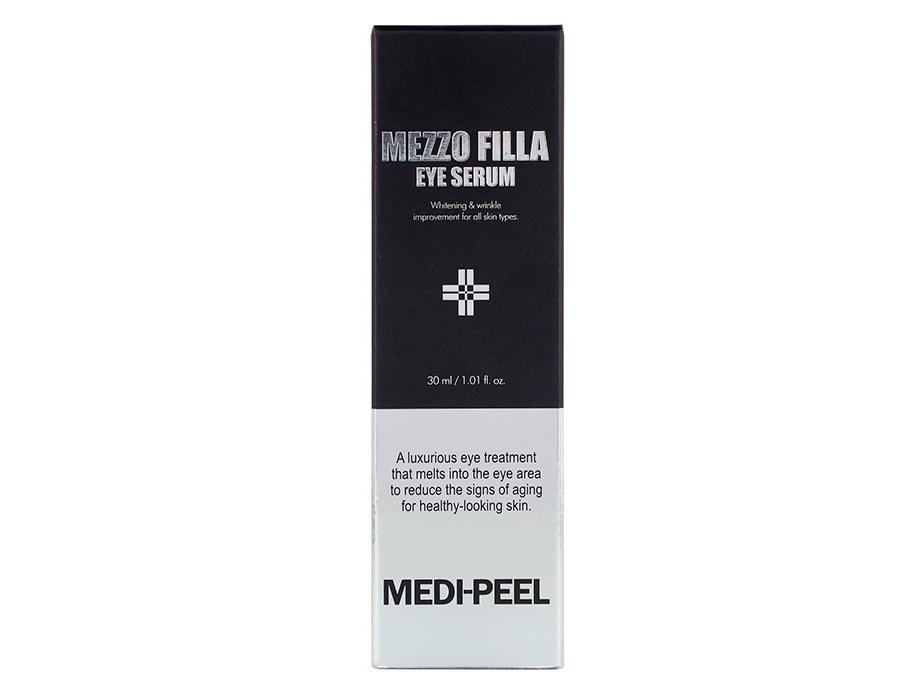 Омолаживающая пептидная сыворотка для век Medi-Peel Mezzo Filla Eye Serum, 30мл - Фото №3