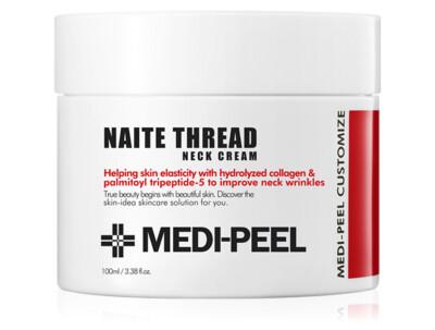 Пептидный крем для шеи и декольте Medi-Peel Naite Thread Neck Cream, 100мл - Фото №1