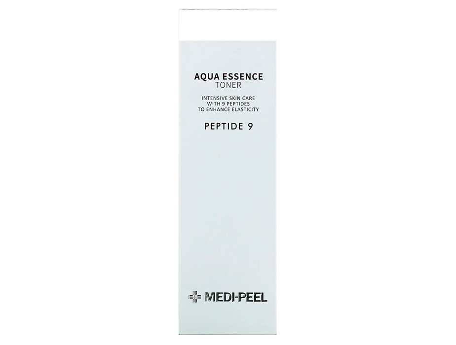 Увлажняющий тонер-эссенция для лица с комплексом 9 пептидов Medi-Peel Peptide 9 Aqua Essence Toner, 250мл - Фото №3