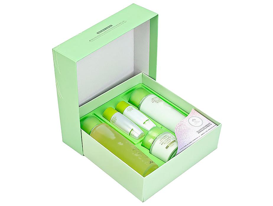Увлажняющий набор для ухода за лицом с экстрактом алоэ 3W Clinic Aloe Full Water Activating Skin 3 Kit Set - Фото №3