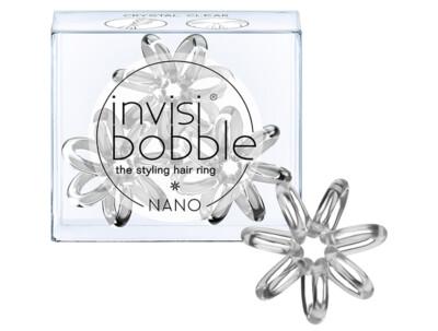 Резинка для волос Invisibobble Nano Crystal Clear, 3шт - Фото №1