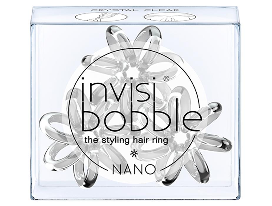 Резинка для волос Invisibobble Nano Crystal Clear, 3шт - Фото №2