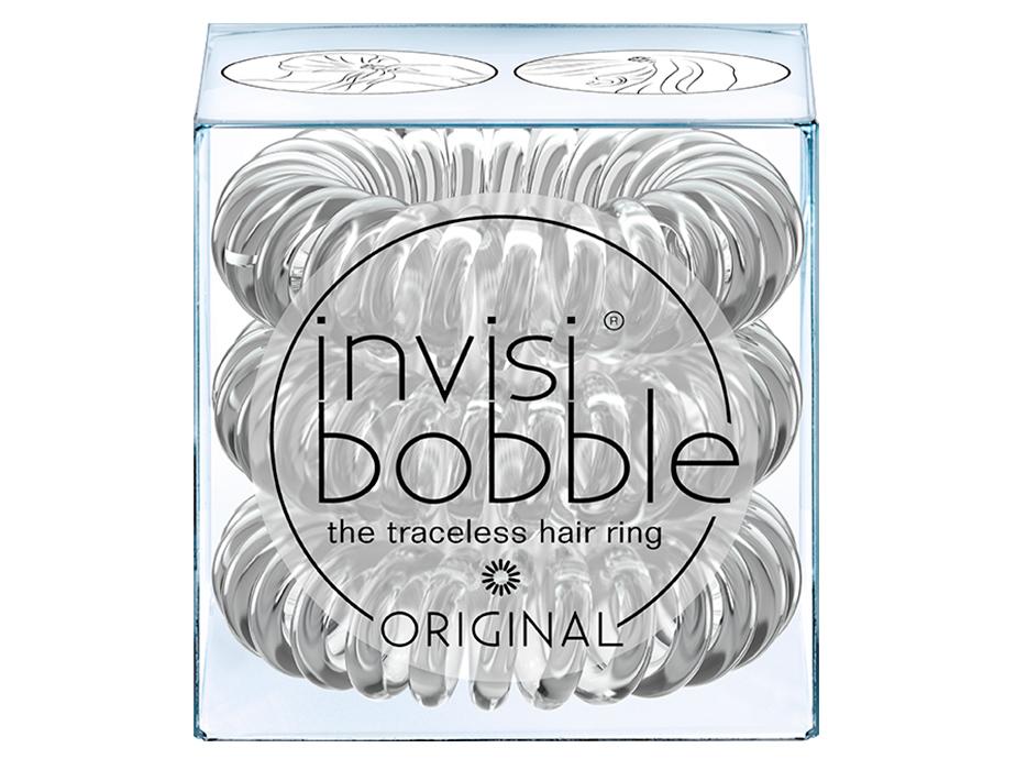 Резинка-браслет для волос Invisibobble Original Crystal Clear, 3шт - Фото №2