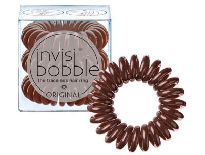 Резинка-браслет для волос Invisibobble Original Pretzel Brown, 3шт - Фото №1