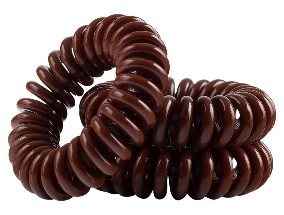 Резинка-браслет для волос Invisibobble Original Pretzel Brown, 3шт - Фото №3