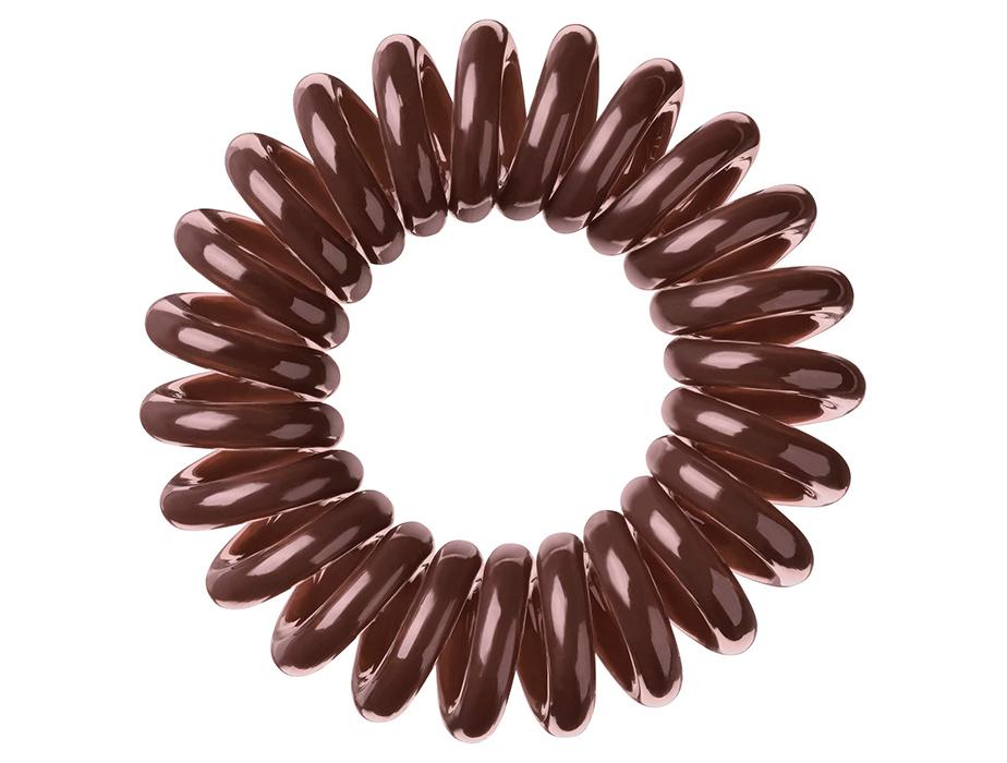 Резинка-браслет для волос Invisibobble Original Pretzel Brown, 3шт - Фото №4