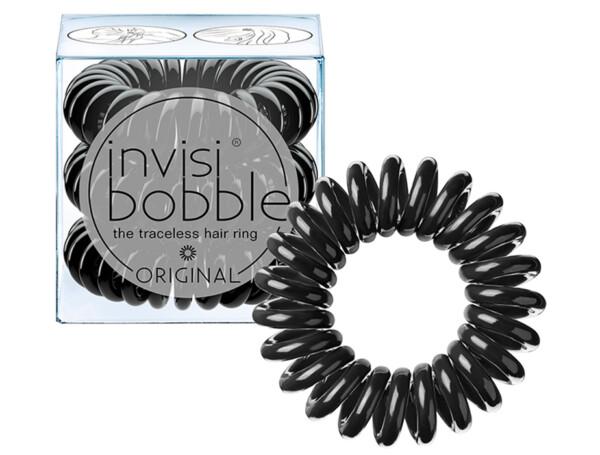 Резинка-браслет для волос Invisibobble Original True Black, 3шт - Фото №1