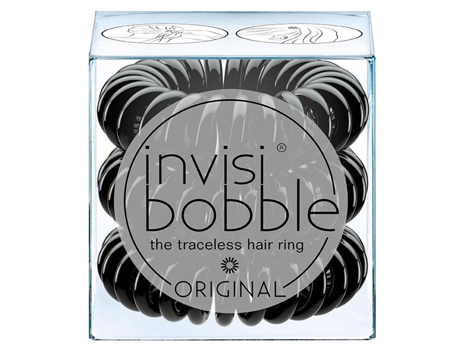 Резинка-браслет для волос Invisibobble Original True Black, 3шт - Фото №2