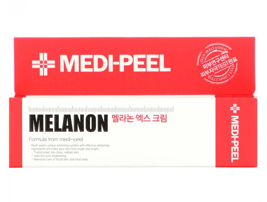 Осветляющий крем для лица против пигментации Medi-Peel Melanon X Cream, 30мл - Фото №3