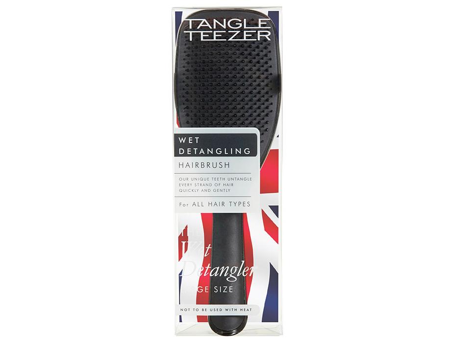 Расческа Tangle Teezer The Large Wet Detangler Black Gloss - Фото №8