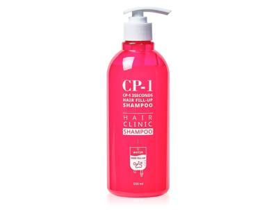 Восстанавливающий шампунь для гладкости волос Esthetic House CP-1 3 Seconds Hair Fill-Up Shampoo, 500мл - Фото №1