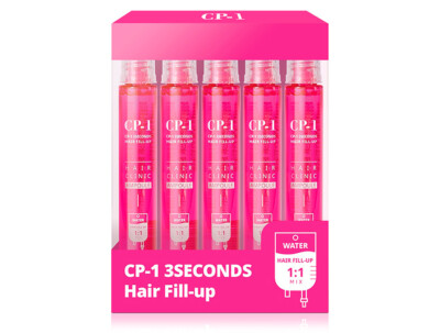 Маска-филлер для волос Esthetic House CP-1 3 Seconds Hair Ringer Hair Fill-Up Ampoule, 5шт по 13мл - Фото №1