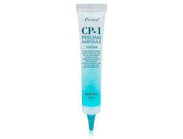 Пилинг-сыворотка для эффективного очищения кожи головы Esthetic House CP-1 Head Spa Peeling Ampoule, 20мл - Фото №1