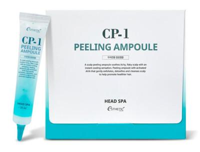 Пилинг-сыворотка для эффективного очищения кожи головы Esthetic House CP-1 Head Spa Peeling Ampoule, 20шт по 20мл - Фото №1
