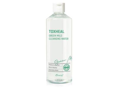 Мицеллярная вода для снятия макияжа Esthetic House Toxheal Green Mild Cleansing Water, 530мл - Фото №1