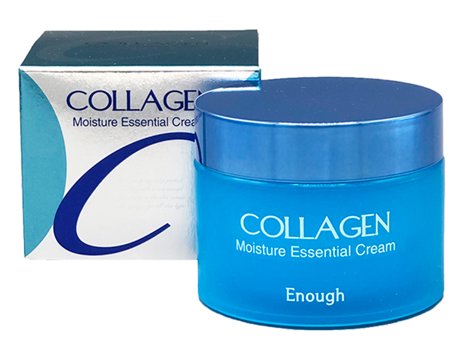 Увлажняющий крем для лица с коллагеном Enough Collagen Moisture Essential Cream, 50мл - Фото №3