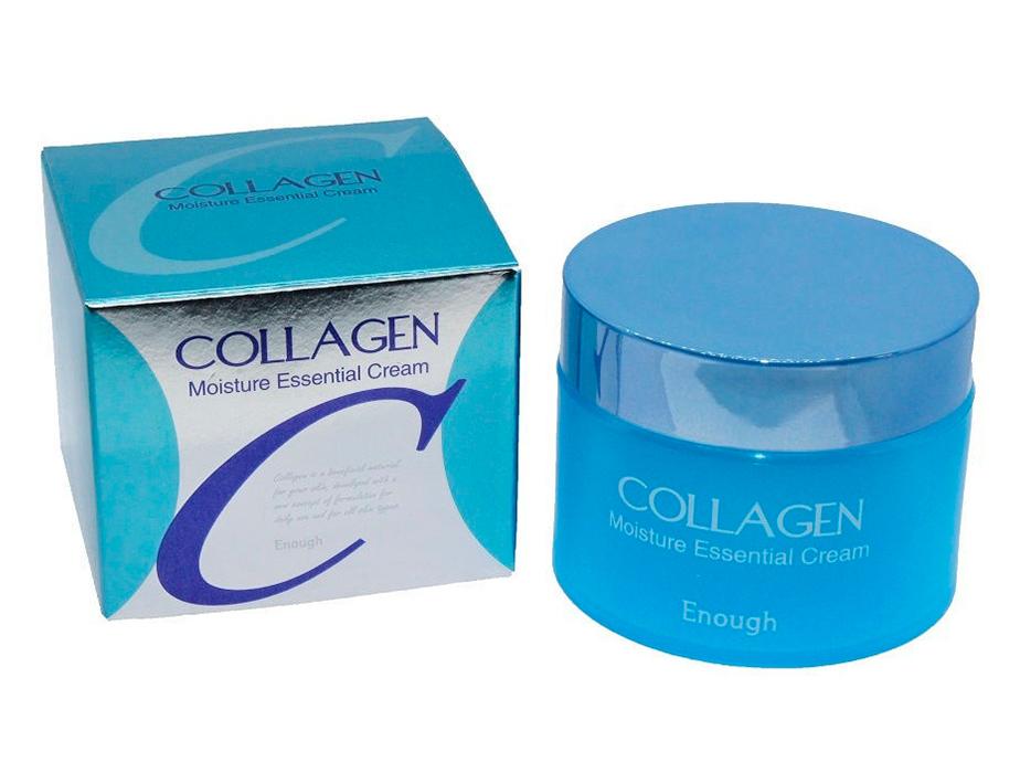 Увлажняющий крем для лица с коллагеном Enough Collagen Moisture Essential Cream, 50мл - Фото №4