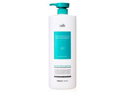 Бесщелочной шампунь для волос Lador Damage Protector Acid Shampoo, 1500мл - Фото №1