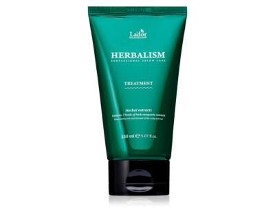 Травяная маска для волос с аминокислотами Lador Herbalism Treatment, 150мл - Фото №1