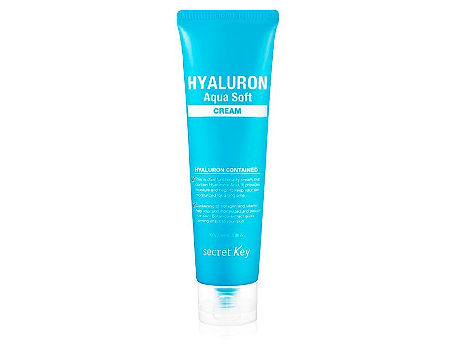 Гиалуроновый крем для лица Secret Key Hyaluron Aqua Soft Cream, 70г