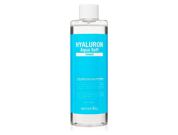 Гиалуроновый тонер для лица Secret Key Hyaluron Aqua Soft Toner, 500мл - Фото №1