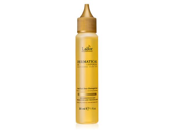Функциональный филлер от выпадения волос Lador Dermatical Active Ampoule, 30мл - Фото №1
