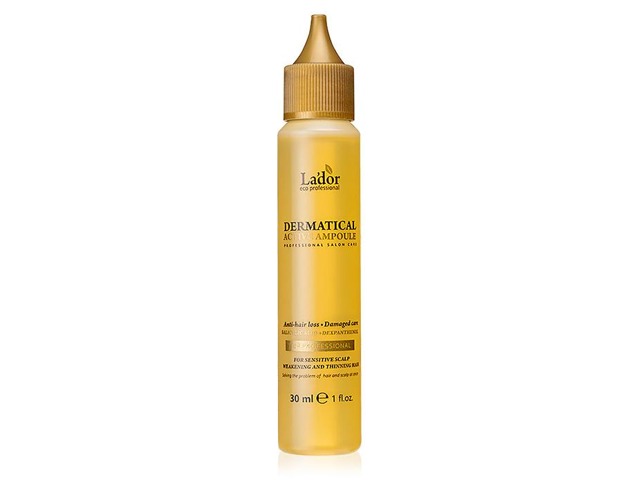 Функциональный филлер от выпадения волос Lador Dermatical Active Ampoule, 30мл