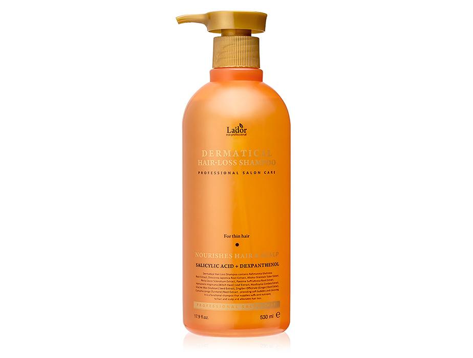 Укрепляющий шампунь от выпадения для тонких волос Lador Dermatical Hair-Loss Shampoo For Thin Hair, 530мл