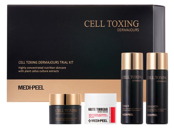 Набор омолаживающих миниатюр для лица Medi-Peel Cell Toxing Dermajours Trial Kit - Фото №1