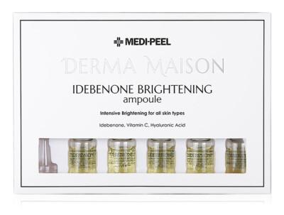 Концентрированные ампулы с идебеноном Medi-Peel Derma Maison Idebenone Brightening Ampoule, 10шт по 5мл - Фото №1