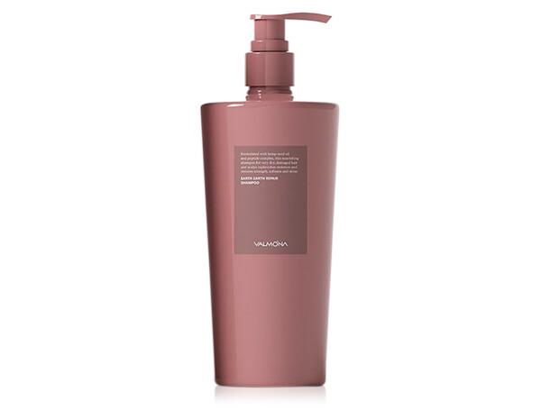 Восстанавливающий шампунь для волос Valmona Earth Repair Bonding Shampoo, 500мл - Фото №1