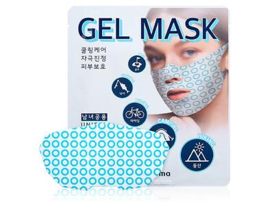 Лифтинг-маска для подтяжки овала лица WellDerma Sports Cooling Gel Mask - Фото №1